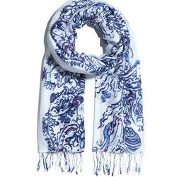 'Wavepool' fringe scarf, $20