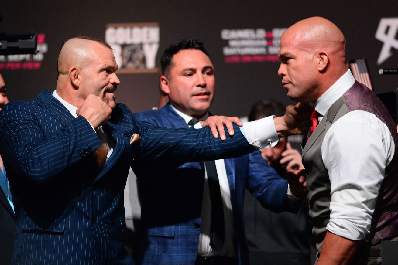 usa today 11244519.0 - Tito Ortiz on Oscar and Golden Boy MMA: 'Dana was right'