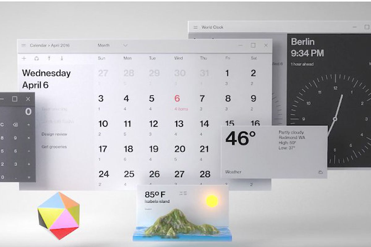 Microsoft s design video features a completely redesigned for Window design ms