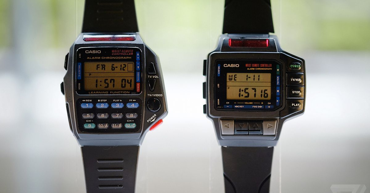 The original smartwatches: Casio's history of wild wrist