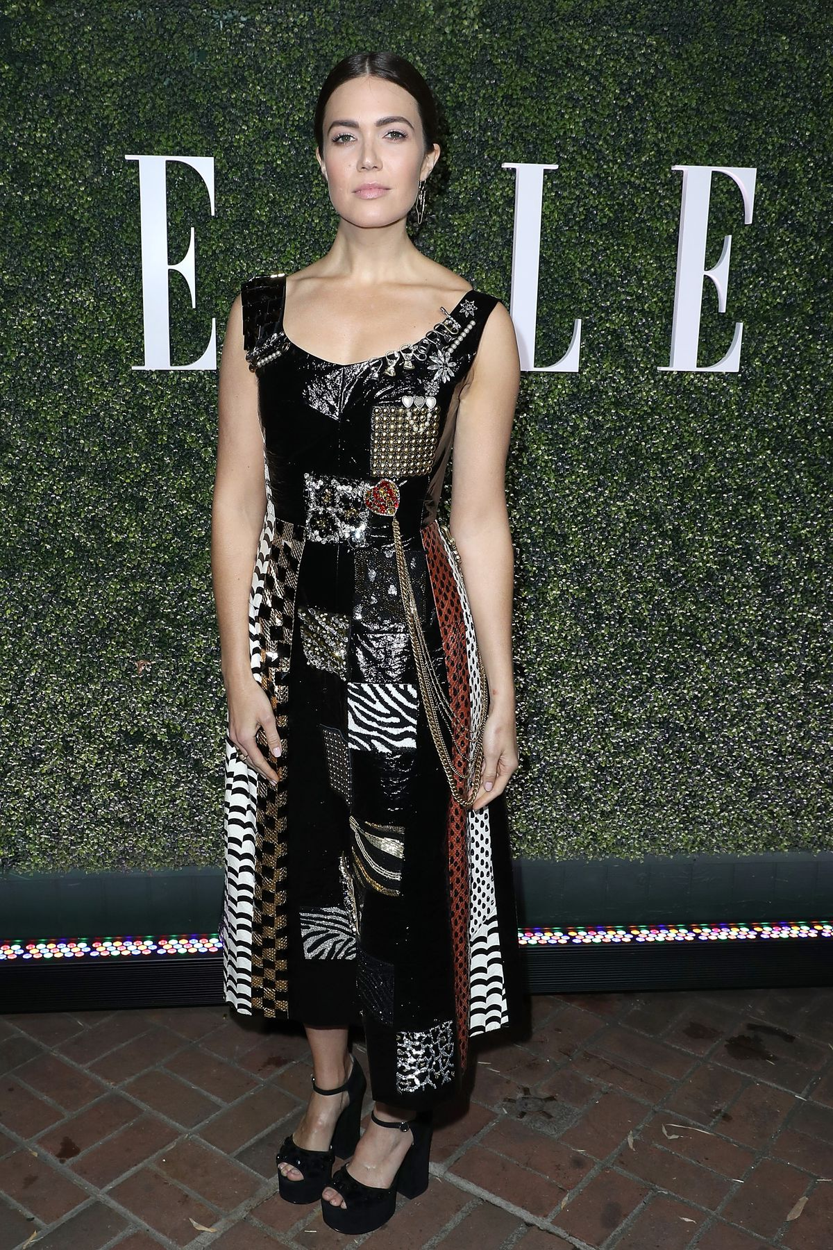 Mandy Moore attends the ELLE's Annual Women In Television Celebration 2017 - Red Carpet at Chateau Marmont on January 14, 2017 in Los Angeles, California.