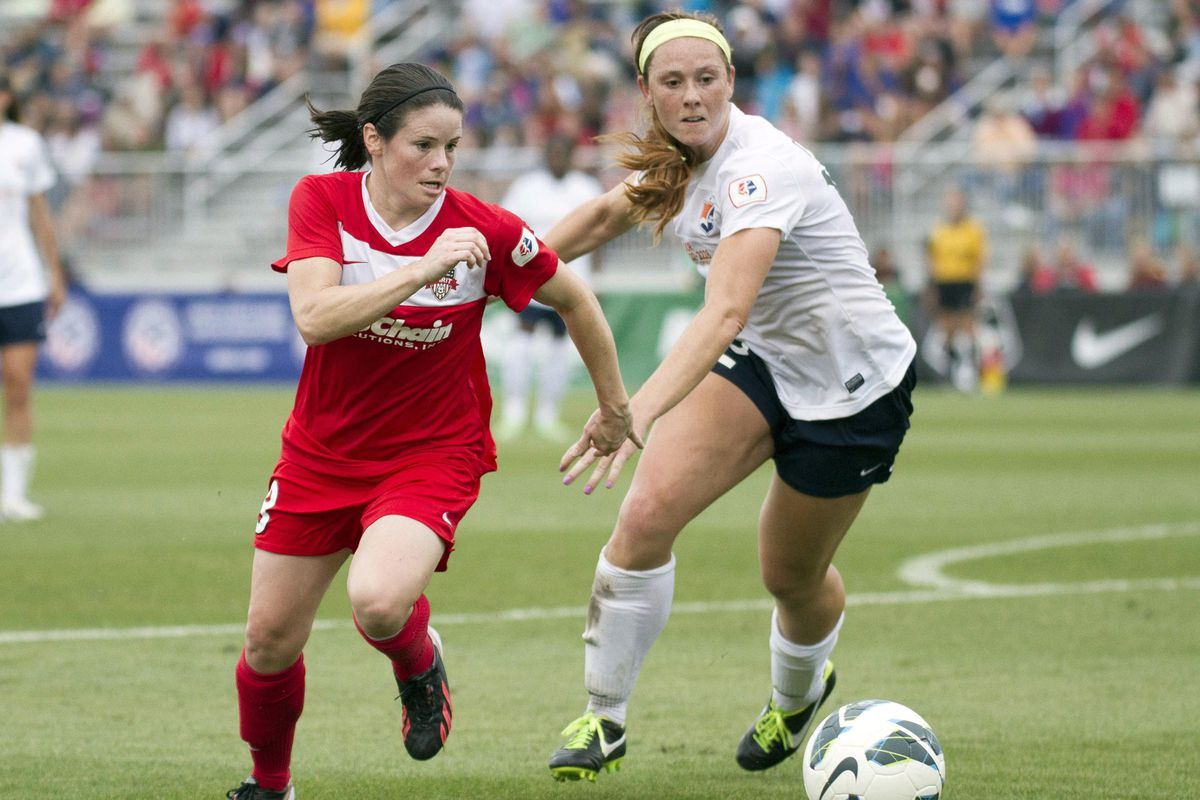 Diana Matheson and forward Jodie Taylor hooked up for a brilliant goal in the second half.