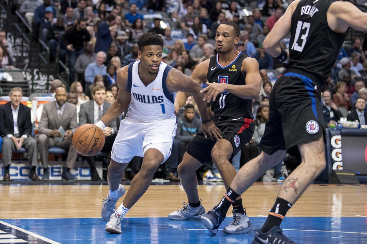 5 mostly unrealistic dennis smith jr trade ideas mavs moneyball