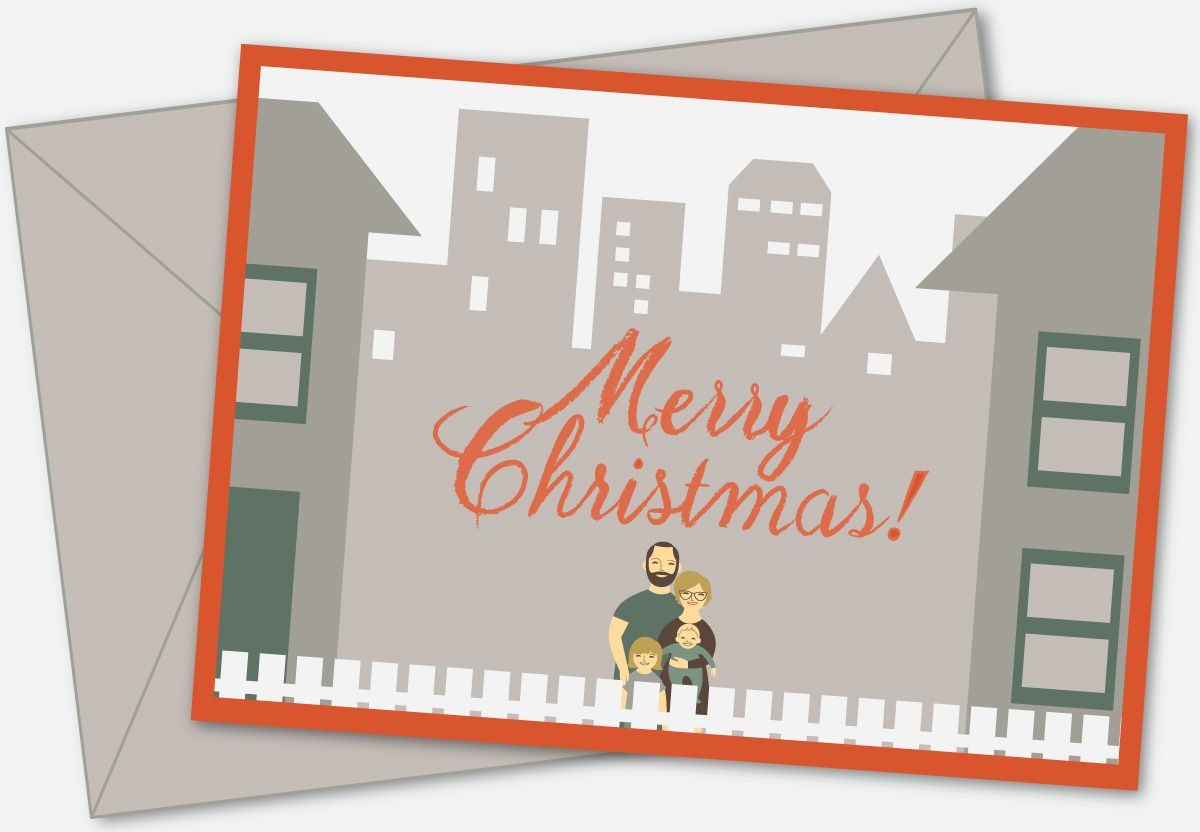 What Christmas cards would look like if they told the truth