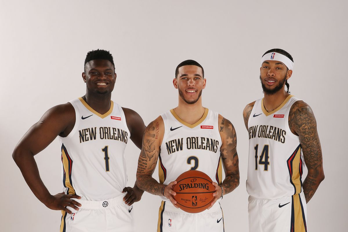 2019-20 New Orleans Pelicans Media Day