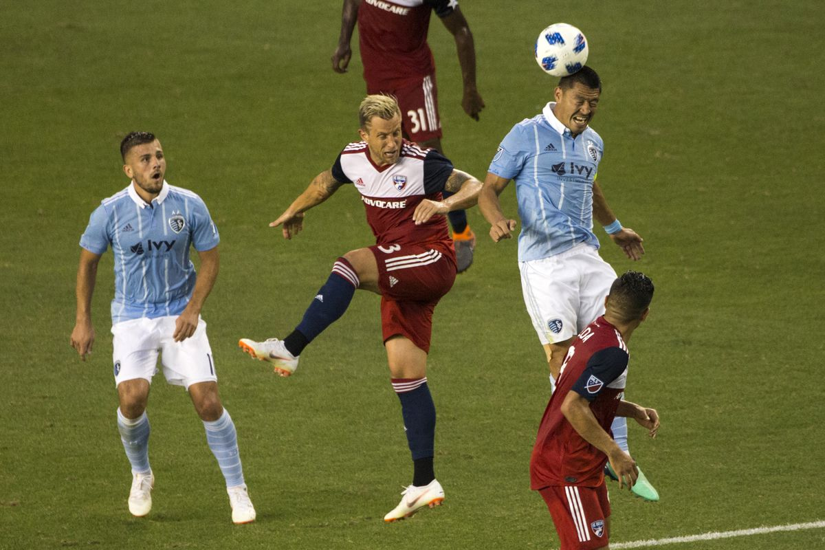 b55d768140f3 FC Dallas vs Sporting KC  SKC finds a late winner - Big D Soccer