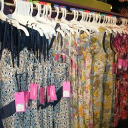 Liberty of London for Target had dresses with fresh prints.