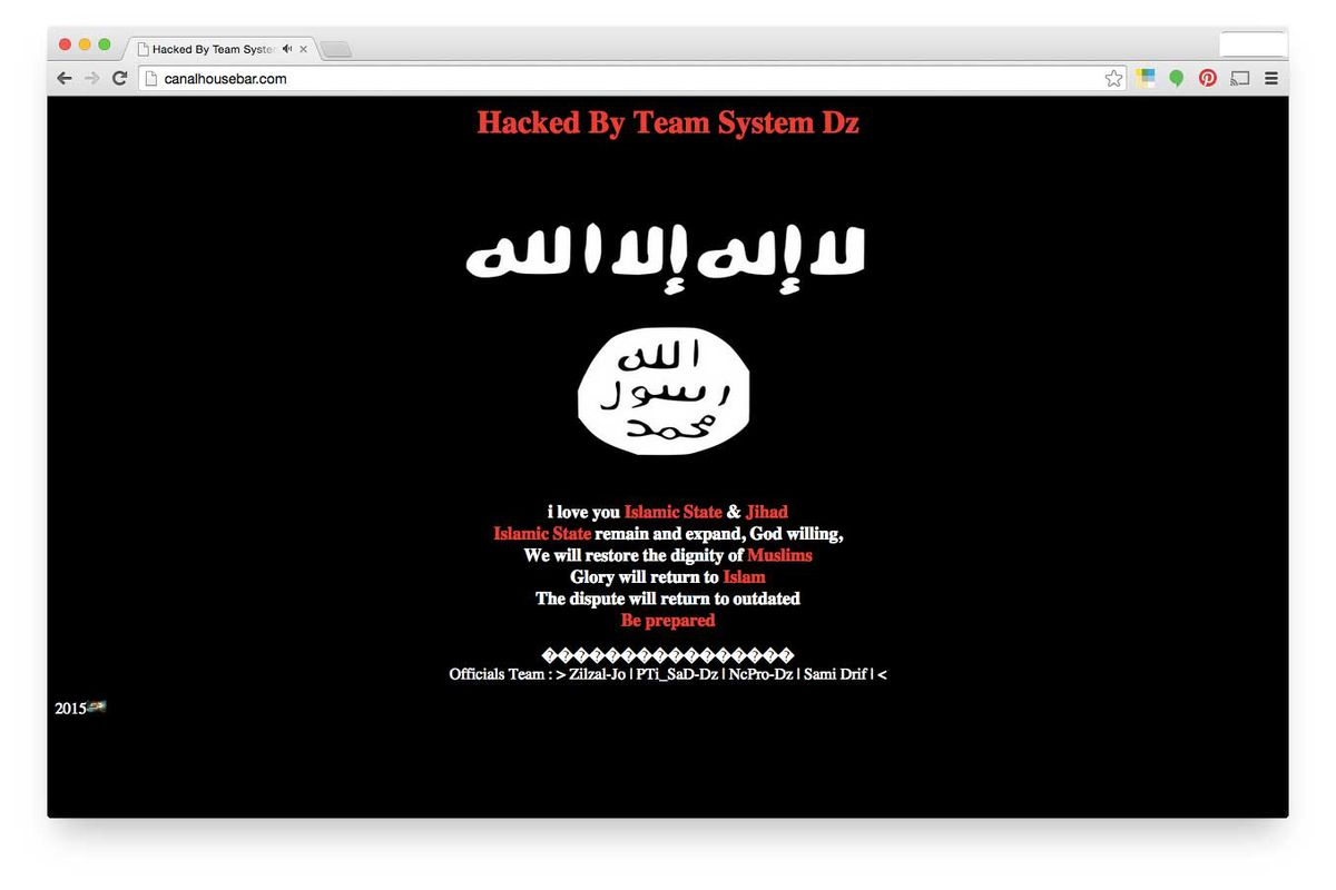 Image result for isis hack ohio government sites