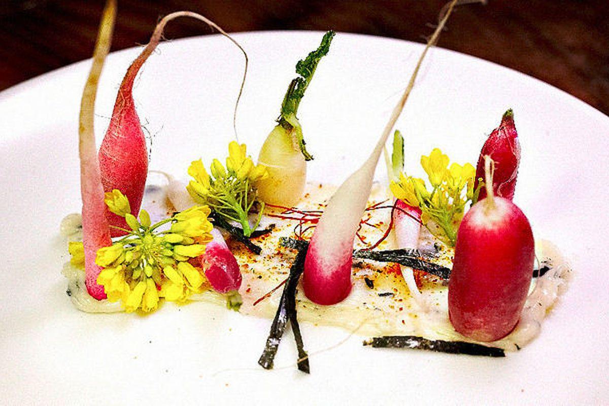 Radishes & Butter by Ludo Lefebvre taken by @LA_Chefs