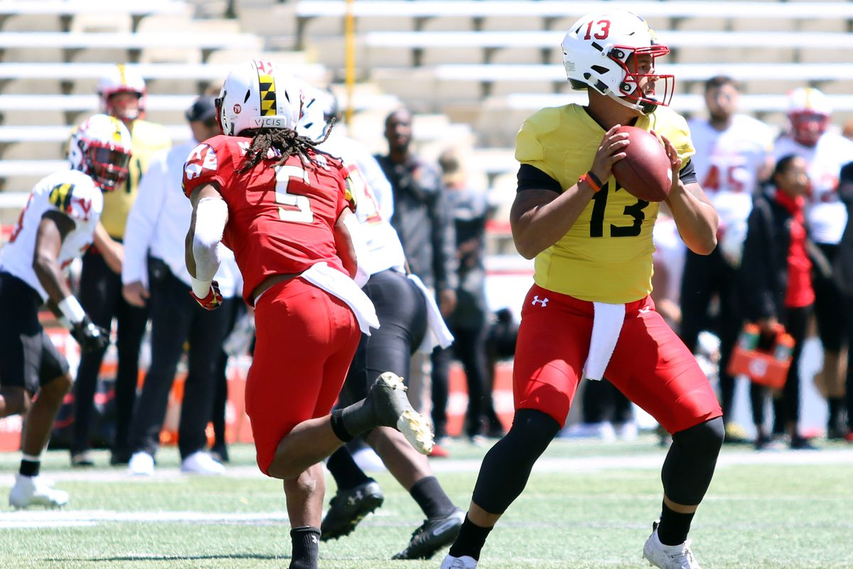 a9df021e79f5 Maryland football spring game 2019  Tyler DeSue stepped up
