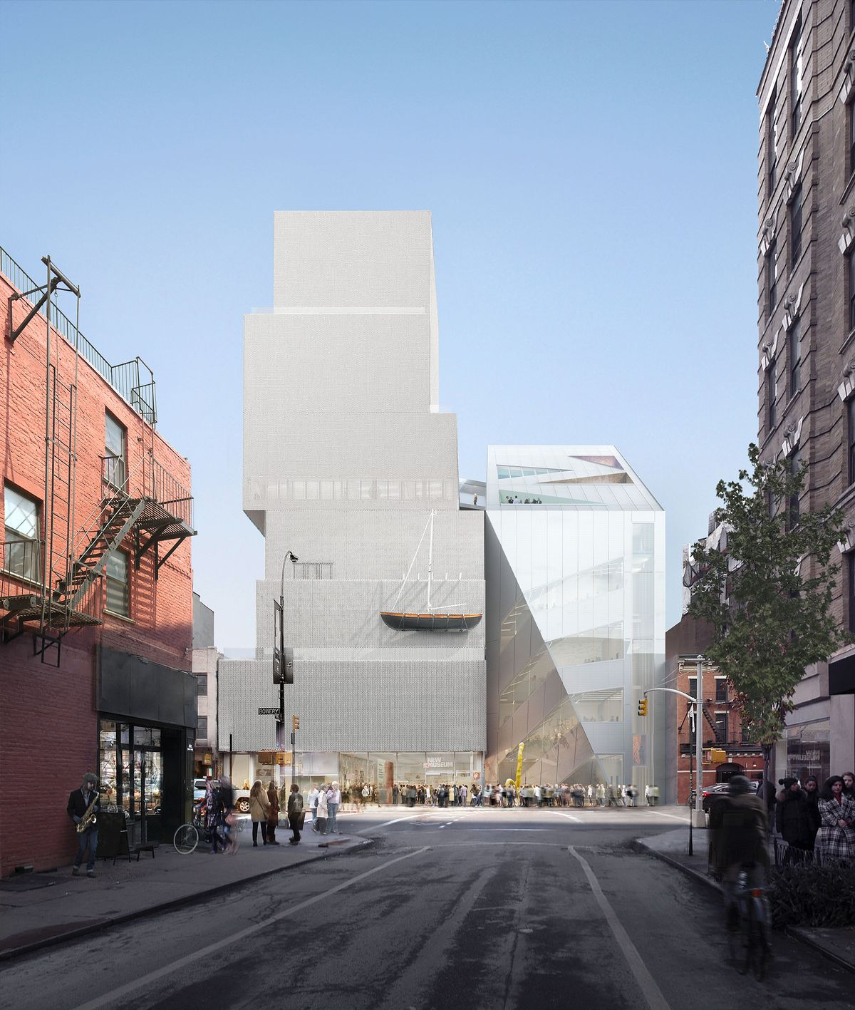 New Museum Unveils New, Rem Koolhaas-designed Addition
