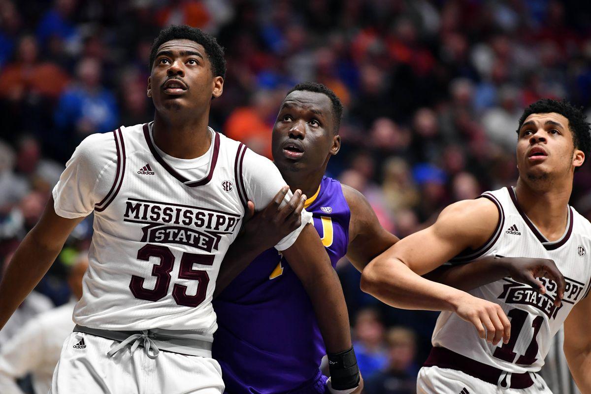 NCAA Basketball: SEC Tournament-Mississippi State vs LSU