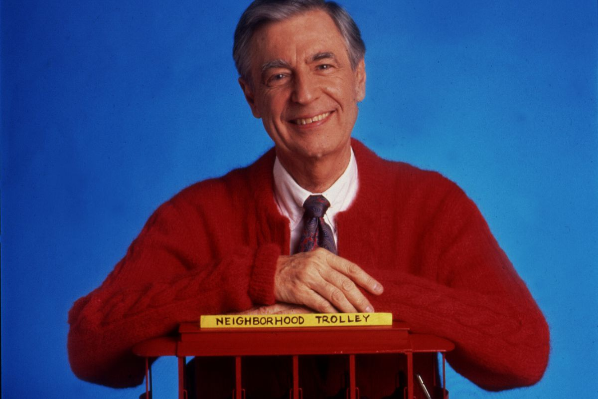 """Mr. Rogers """"Won't you be my neighbor?"""" was right."""