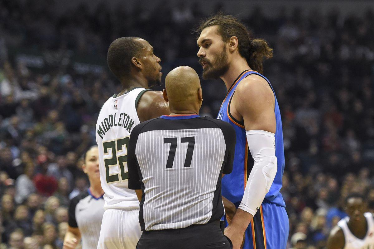 NBA: Oklahoma City Thunder at Milwaukee Bucks