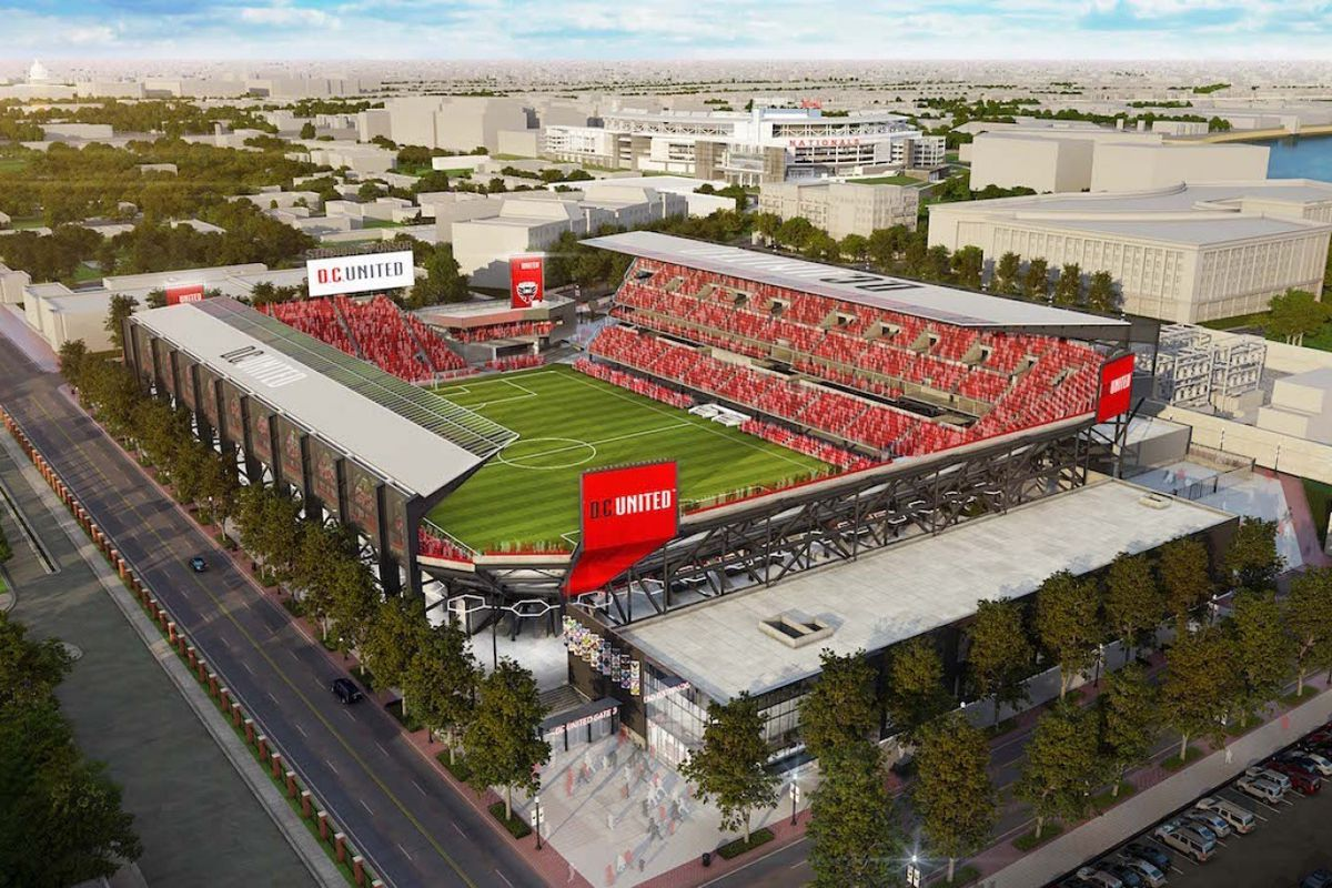 D C United To Break Ground On Audi Field On February 27