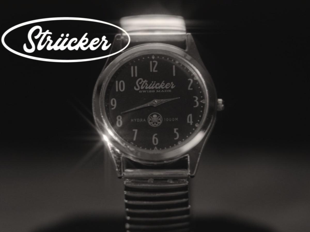 Strucker brand watch commercial in WandaVision
