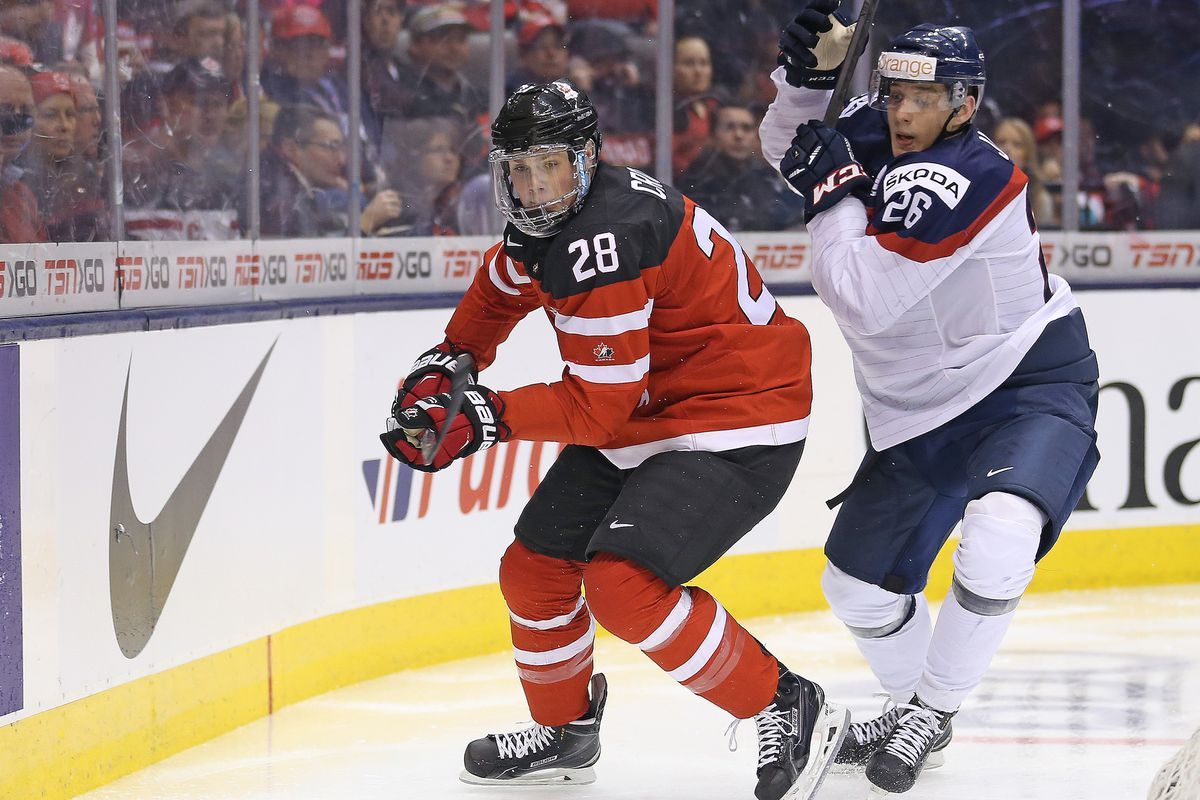 Lawson Crouse from the 2015 WJC