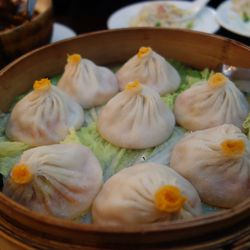 """Pork & Crab Xiaolongbao from Shanghai Heping by <a href=""""http://www.flickr.com/photos/536/7782455014/in/pool-eater/"""">536</a>"""