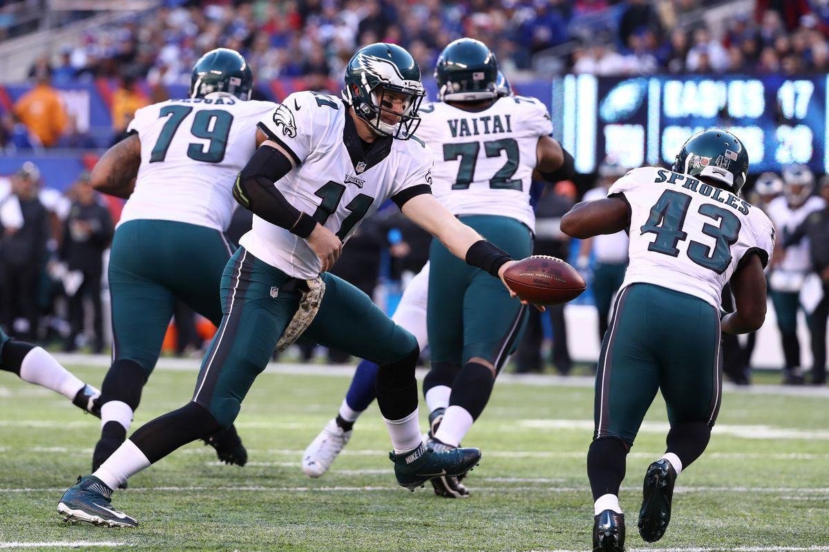 Philadelphia Eagles Depth Chart Post Nfl Draft Offense Edition
