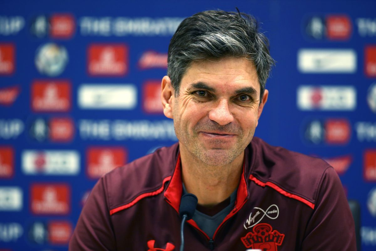 Southampton Training and Press Conference