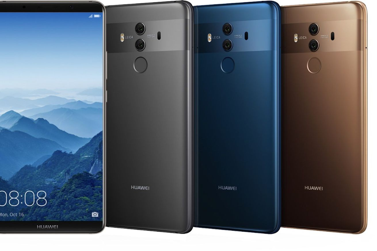 Huawei's Mate 10 Pro is already heavily discounted on its first day of US preorders
