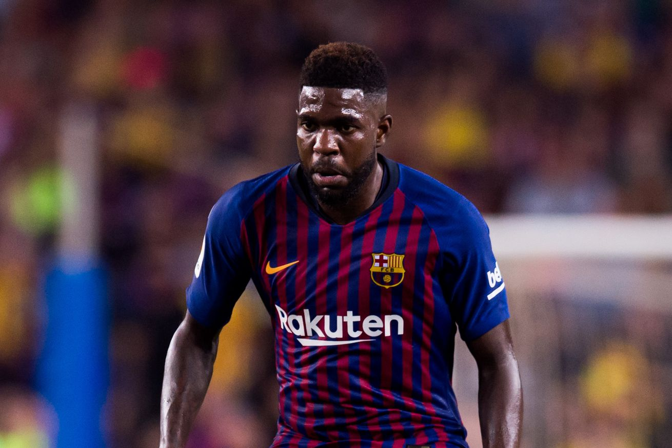 Umtiti says he?s about to make his comeback