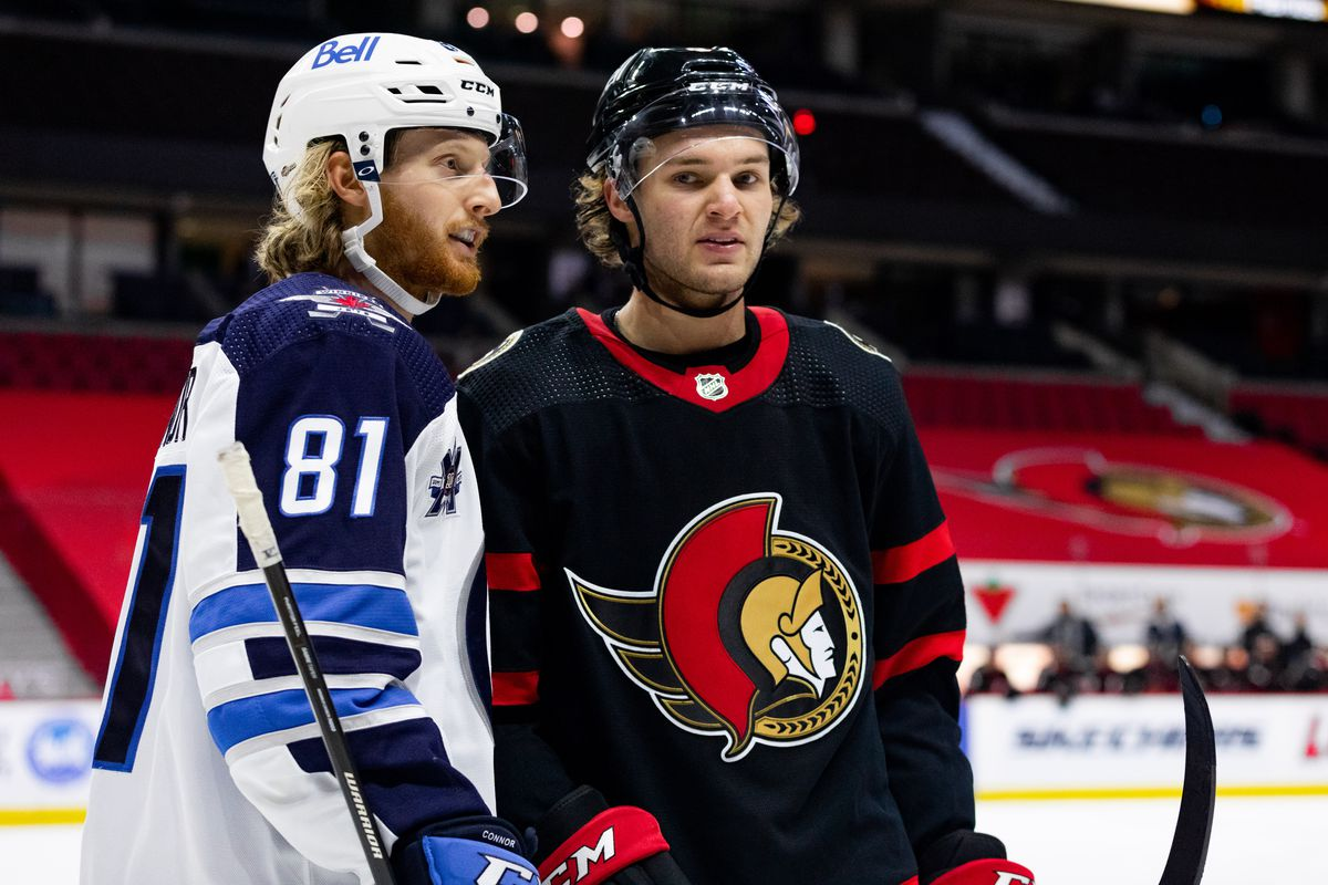 NHL: JAN 21 Jets at Senators