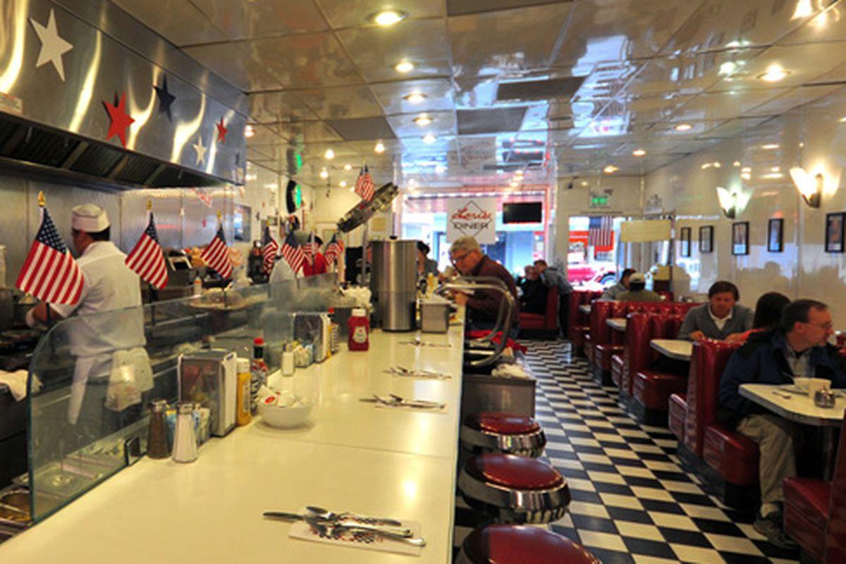 Lori's Diner, bastion of Americana.