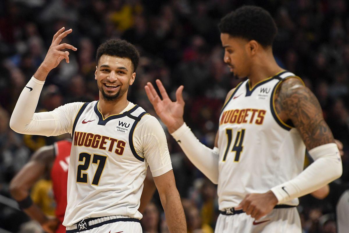DENVER NUGGETS VS TORONTO RAPTORS, NBA REGULAR SEASON