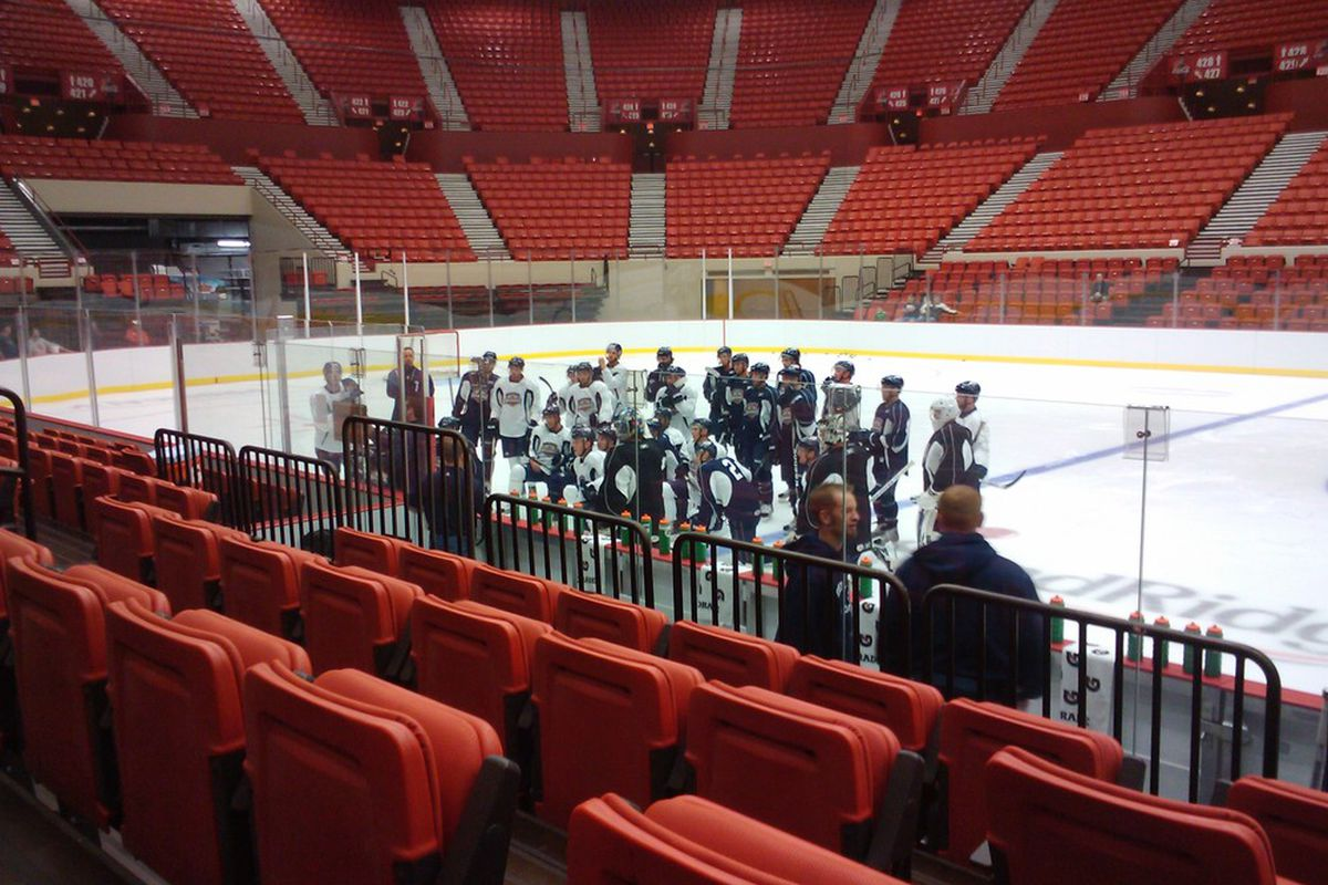 """OKC Barons Camp Day 1 : Picture via <a href=""""http://www.neallivingston.com"""">Neal Livingston</a>"""