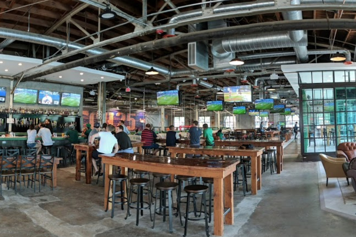 Dynamo Icon Brian Ching S New Soccer Themed Beer Garden