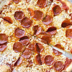 "Pepperoni pizza from Armando's Pizza & Subs by <a href=""http://www.flickr.com/photos/blumiethekoala/"">Blumie the Koala.</a>"