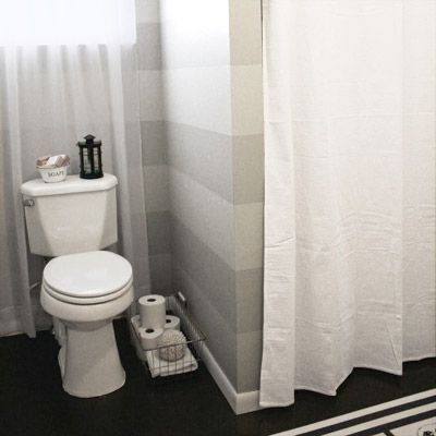 New Bathroom Remodel With Painted Walls