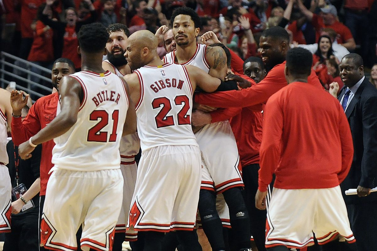 6225986bc96e NBA playoffs scores 2015  Derrick Rose has achieved legend status ...