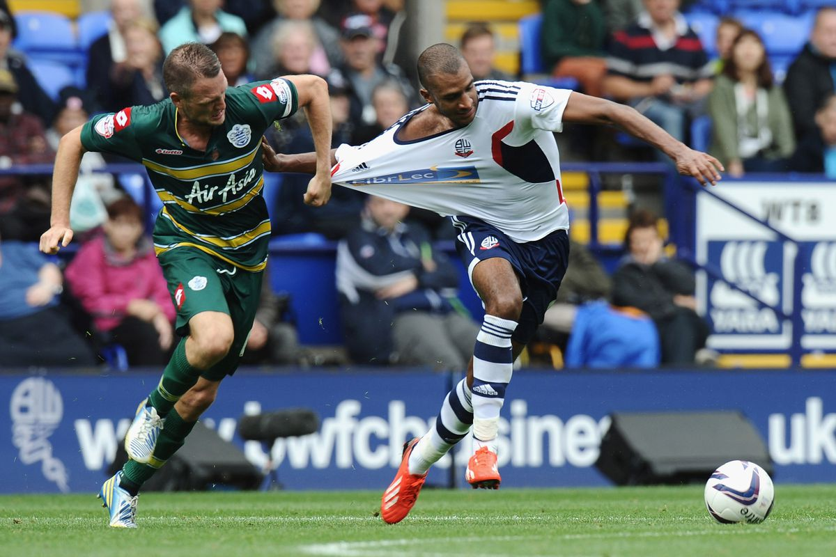 Bolton's strikers are playing with added weight on their backs.