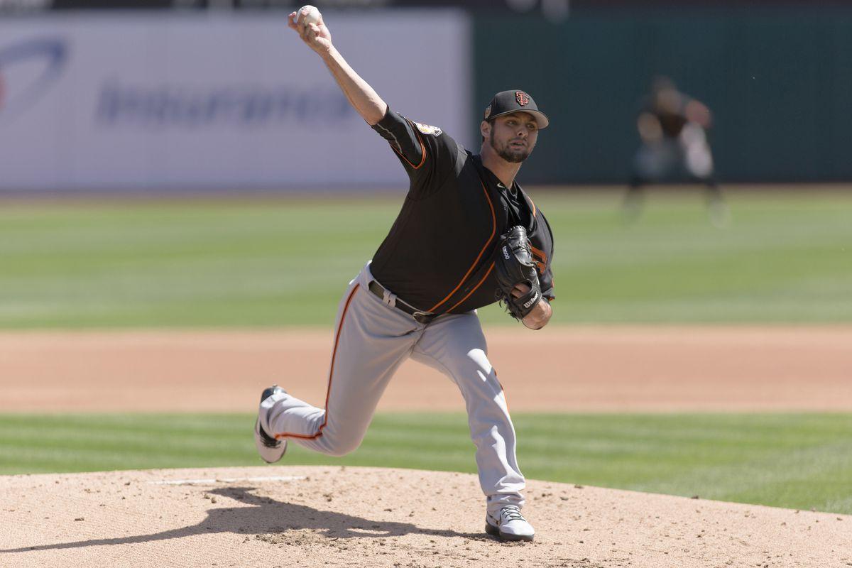 MLB: Spring Training-San Francisco Giants at Oakland Athletics
