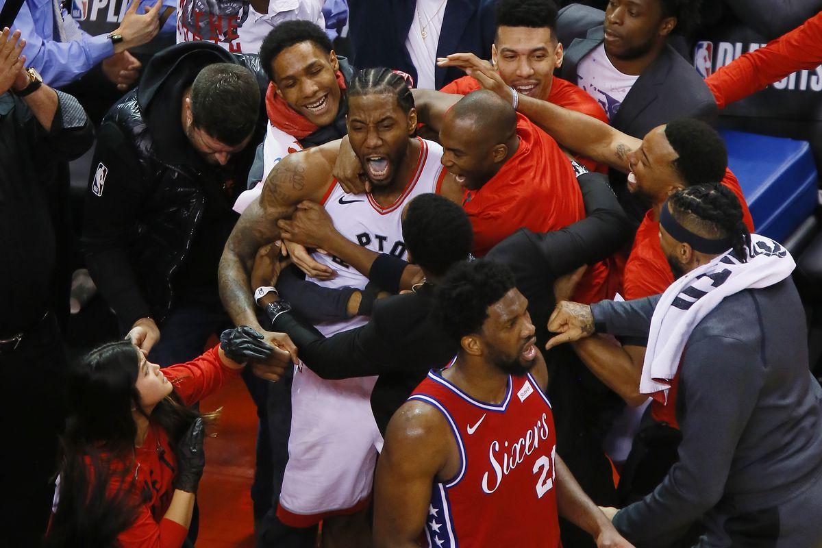 de8cb9bab18 Game 7 Recap: Kawhi buzzer-beater ends the Sixers in Game 7; Raptors ...