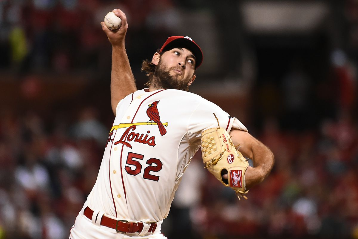 Wacha strikes out seven in the loss to Los Angeles.