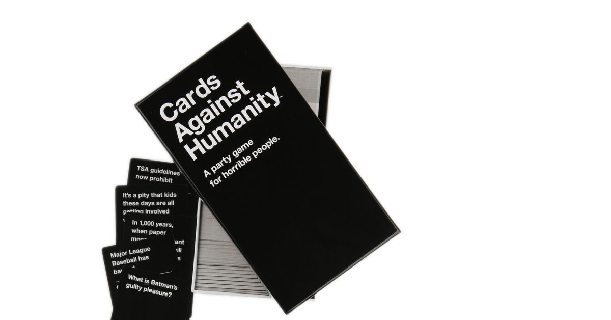 Cards Against Humanity employees are unionizing - The Verge thumbnail