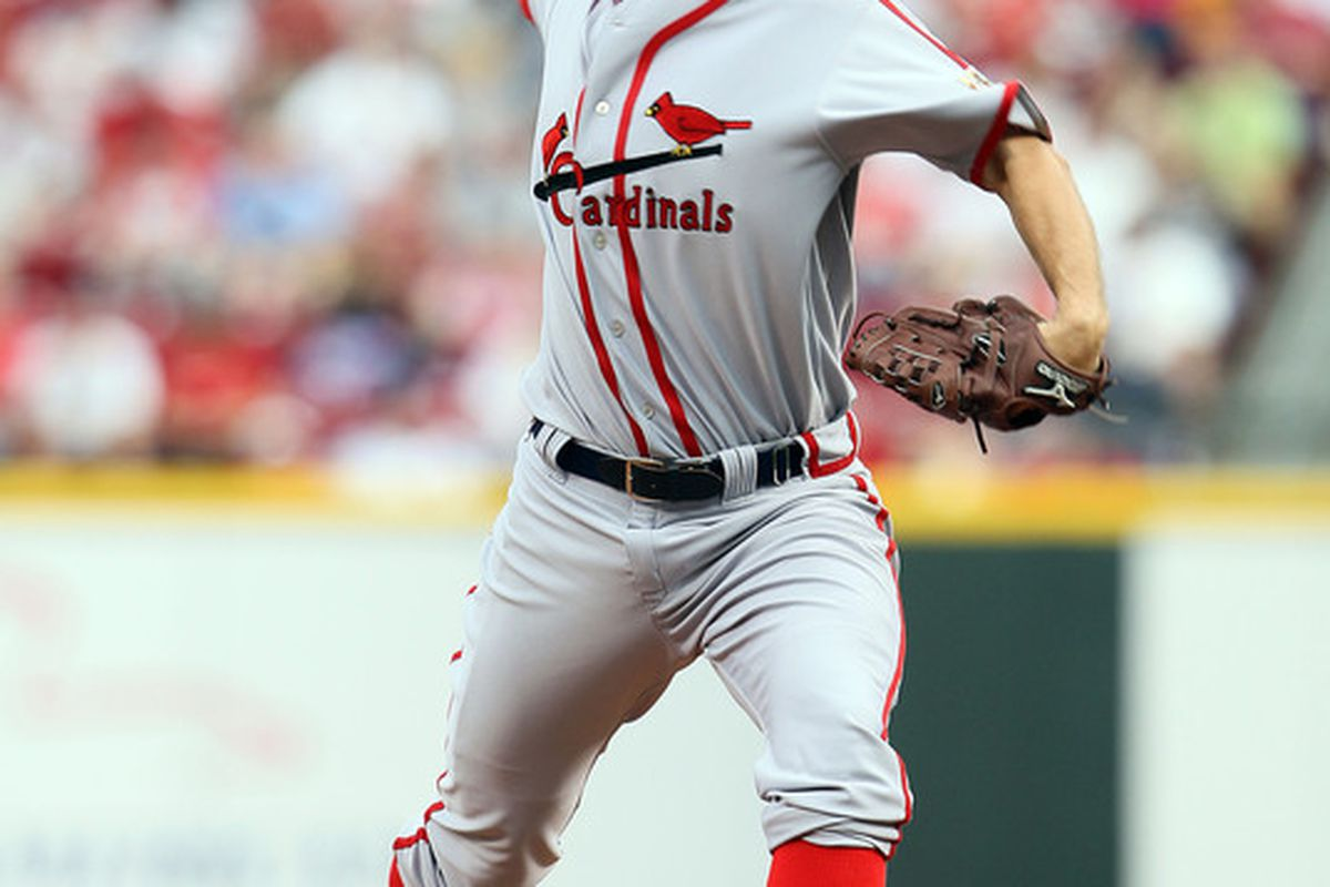 Vintage jersey, but are we seeing vintage Wainwright as well?  (Photo by Andy Lyons/Getty Images)