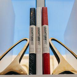 <b>Carl Aubock</b> brass bookends, $445/pair