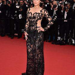Michelle Rodriguez in Zuhair Murad