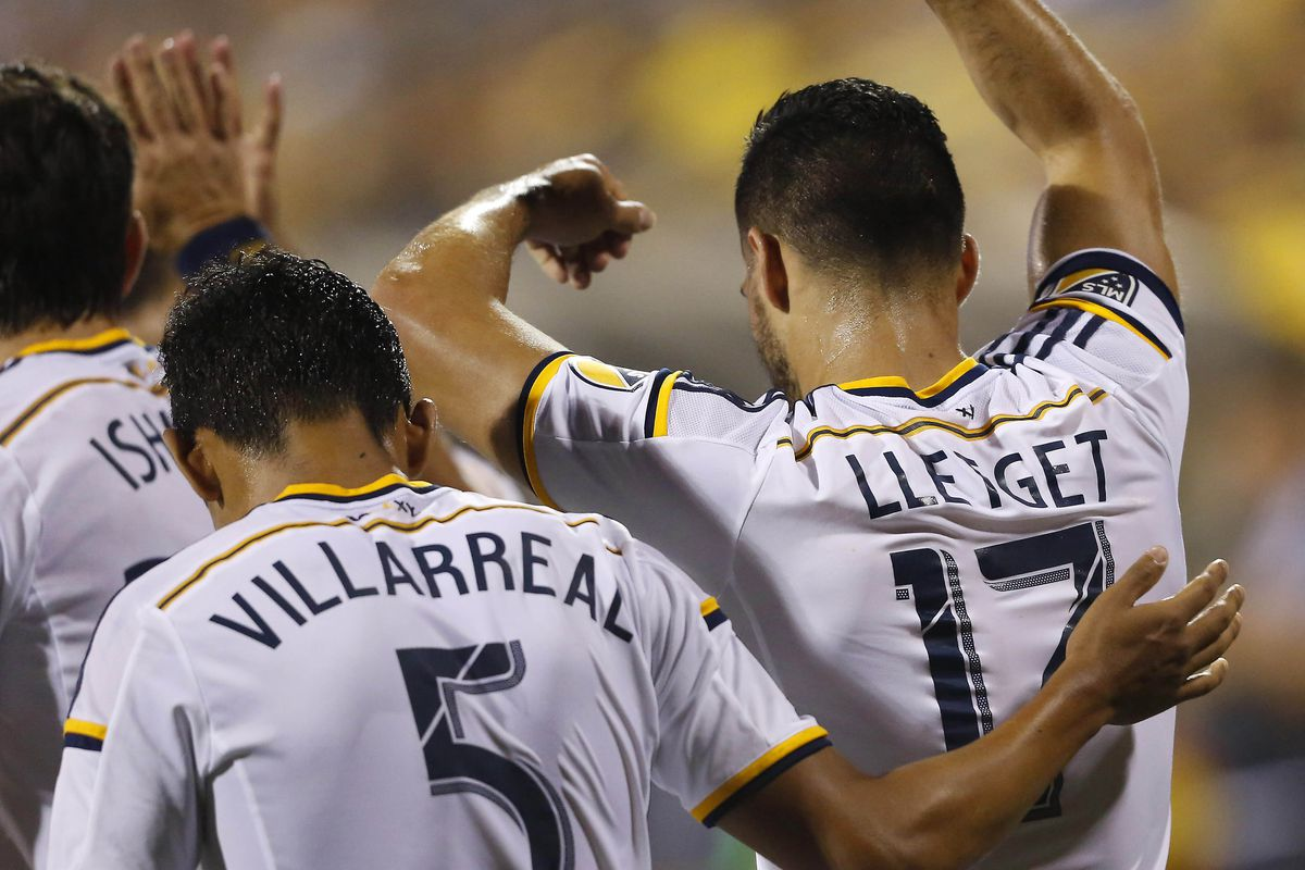Sebastian Lletget played well for LA and was rewarded with his first MLS goal