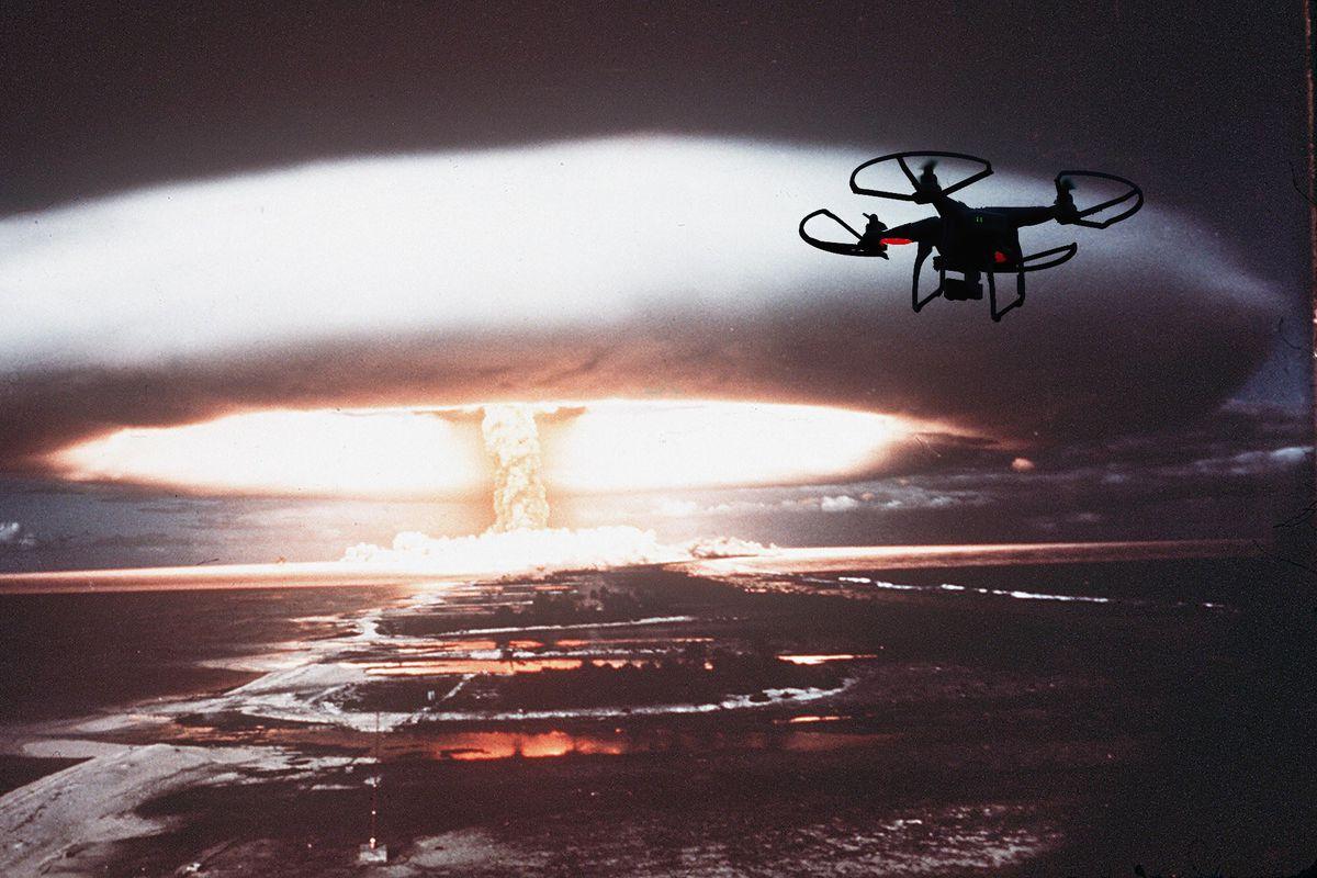 Drone fallout