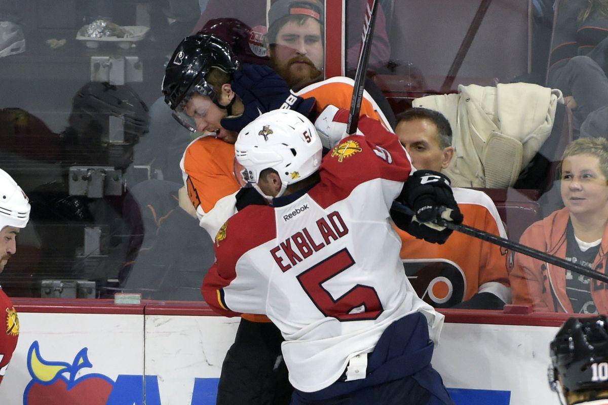 Ek: 1 goal - of the game-winning variety - in 2 career games vs. Philly.