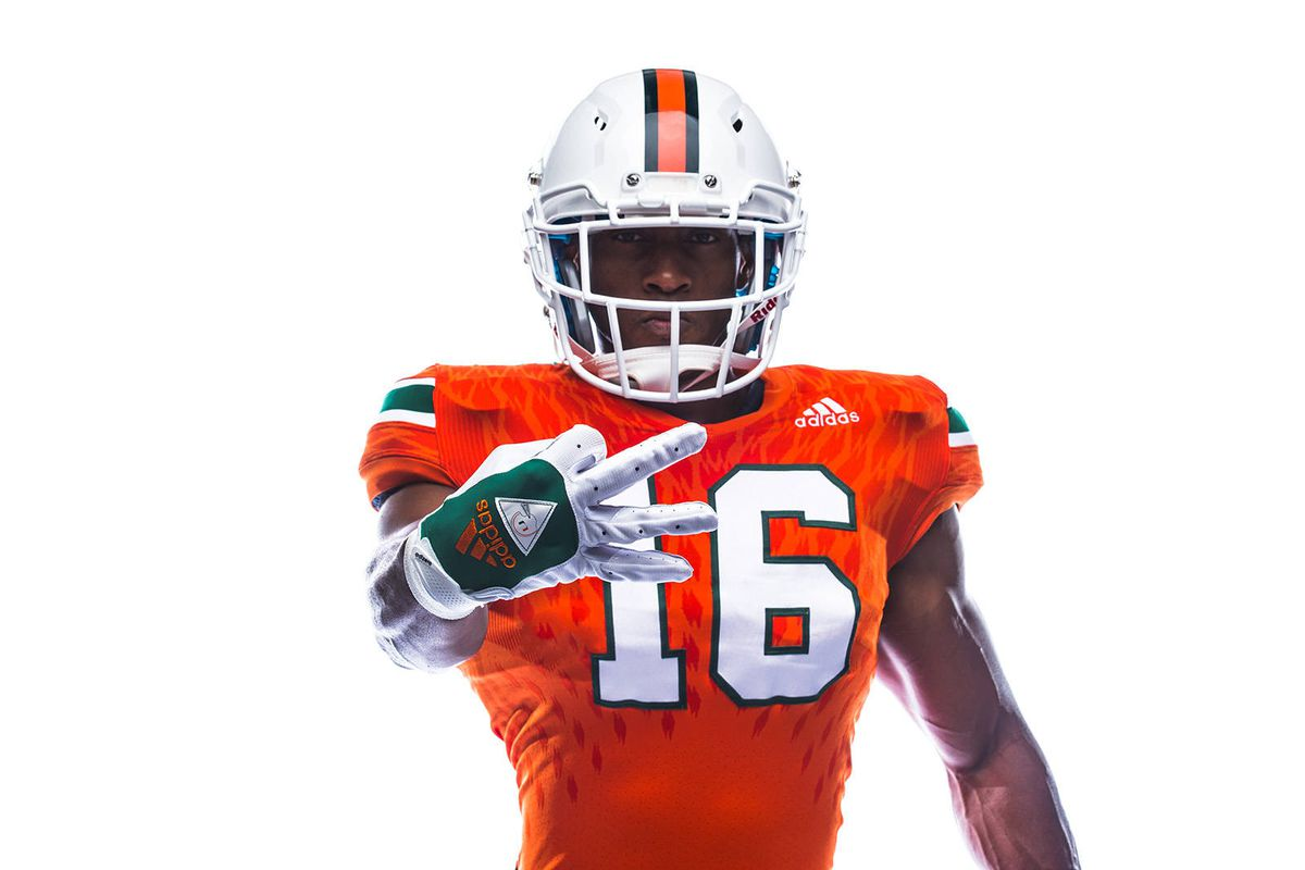 newest c0d60 1ddec Miami Hurricanes News and Notes: New Jerseys unveiled ...