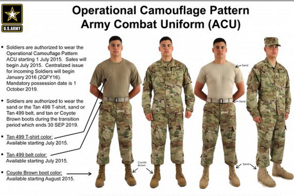 billions of dollars later the army s new uniforms are here the verge