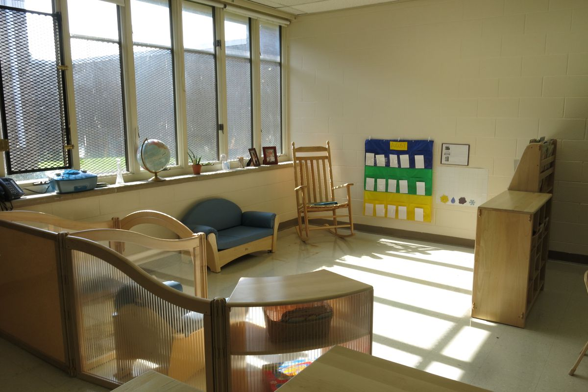 An pre-K classroom at Ross Early Learning Center in Nashville.
