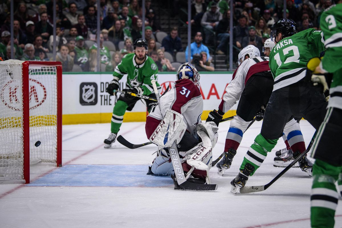 NHL: Colorado Avalanche at Dallas Stars