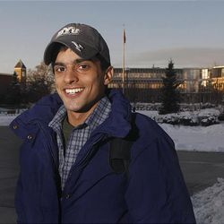 Sameer Ahmad is a Muslim from Pakistan who is attending classes at BYU and adjusting to living in Provo.